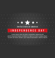 collection stock of independence day style vector image vector image