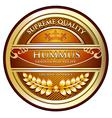 Hummus Traditional Recipe vector image vector image