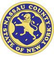 Nassau County Seal vector image