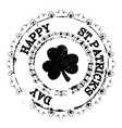 patrick grunge stamp v5 vector image