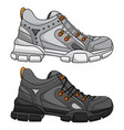 sports shoes for women vector image vector image