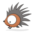Cartoon baby hedgehog