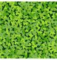 Cloverleaf Green Seamless vector image