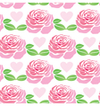 Pattern of flowers roses vector image vector image