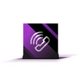 phone support web button vector image vector image