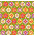 Seamless pattern with multicolored balls vector image