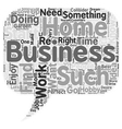 The perfect Home Business Is it right for you text vector image vector image