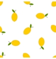 Lemons on a white background vector image