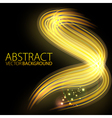 Abstract background-lighting shape vector image vector image