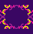 abstract geometric pattern frame in the style of vector image