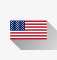 flag of the united states usa flag vector image