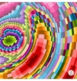 Abstract colorful background Mosaic vector image vector image
