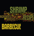 barbecue smoker text background word cloud concept vector image vector image