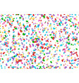 confetti party backdrop vector image vector image
