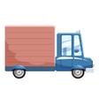 Delivery car icon cartoon style vector image vector image
