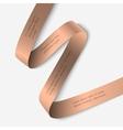 Elegant ribbon banner vector image