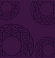 background purple mandala vector image