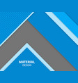 blue color material design background vector image vector image