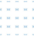 cassette icon pattern seamless white background vector image vector image