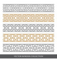 collection borders and decorative elements vector image