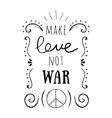 hand-lettered vintage st valentines card vector image vector image