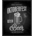 oktoberfest chalk vector image