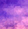 Purple geometric vector image vector image