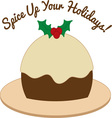 Spice Up Holidays vector image vector image