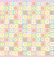 sweet cute flower pattern background
