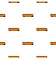 train pattern flat vector image vector image
