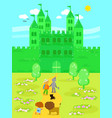 wonderful wizard of oz 05 the emerald castle vector image