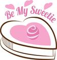 Be My Sweetie vector image vector image