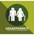 Grandparents silhouettes