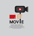Movie Maker EPS10 vector image