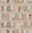 Native American Seamless Pattern vector image vector image