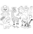 Safari Animals vector image vector image