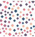 seamless abstract geometric pattern of squares in vector image vector image