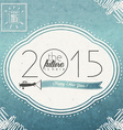 2015 celebration background vector image vector image