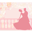Ballroom dancers - invitation vector | Price: 1 Credit (USD $1)