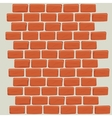 Brick wall design vector image
