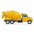 cargo truck 21 vector image
