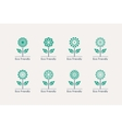Ecological Logos vector image vector image