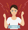 emotional health concept vector image