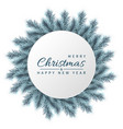 festive christmas and new year banner christmas vector image