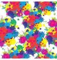 Indian festival seamless pattern colors splash vector image vector image