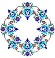Ottoman motifs design series seventy three vector image vector image