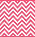 pink white chevron retro decorative pattern vector image vector image
