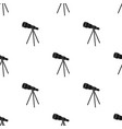 telescope for schools device for astronomy vector image vector image