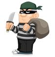 Thief vector image vector image
