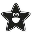 star stencil to the nursery vector image